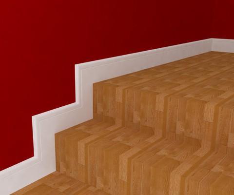 listwy przypodłogowe na schody